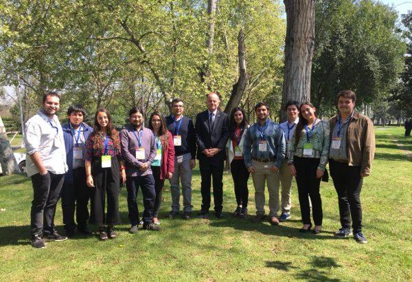 Académicos y estudiantes de Agronomía UdeC asistieron a Fruittrade en Santiago