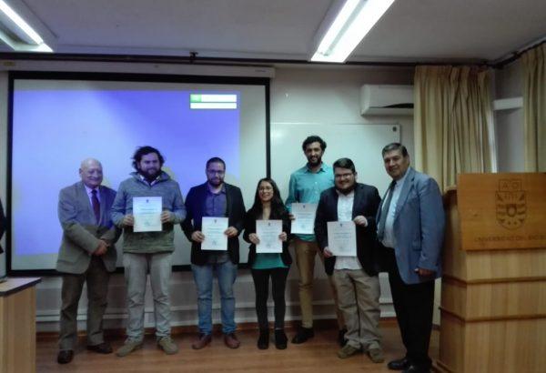 Estudiantes dictan talleres sobre Agricultura a personas de la tercera edad en Chillán Viejo