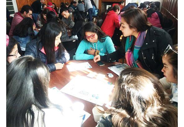 Estudiantes de Agronomía participaron en Taller de Juego de Negocios