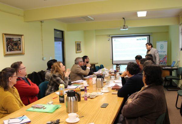 Agronomía se reúne con GORE Ñuble para analizar propuesta productiva para apoyar al sector rural