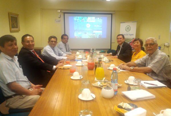 Delegación de autoridades académicas de Perú visitó Agronomía