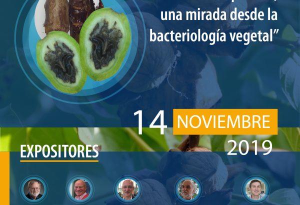 """SEMINARIO INTERNACIONAL """"La salud de las plantas, una mirada desde la bacteriología vegetal"""""""
