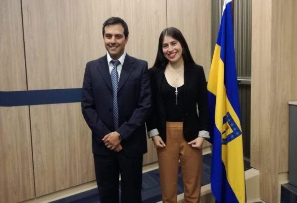 Camila Veloso Sepúlveda rindió examen de grado