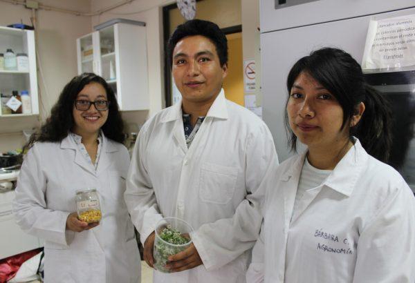 Estudiantes mexicanos se perfeccionan en Agronomía UdeC