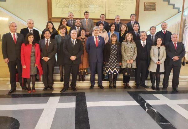 Decano de Agronomía asistió a homenaje que el Senado hizo a la UdeC en su Centenario