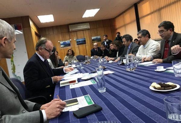 Mesa de Decanos de Agronomía, Veterinaria  y Forestal se reunieron con Ministro de Agricultura