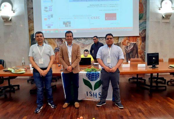Académicos de Agronomía UdeC exponen en Congreso de Fruticultura de Precisión en Italia