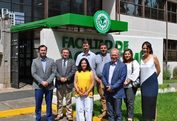 Agronomía UdeC e IP Virginio Gómez fortalecerán convenio de colaboración mutua