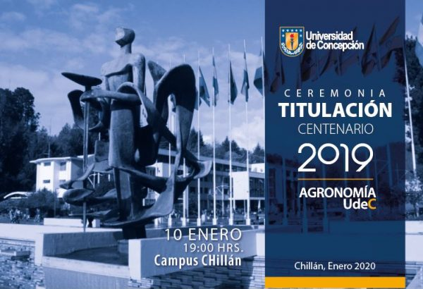 Ceremonia Entrega de Títulos y Postgrados, Campus Chillán