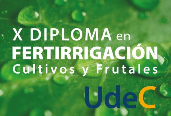X Diploma en Fertirrigación de Cultivos y Frutales 2020