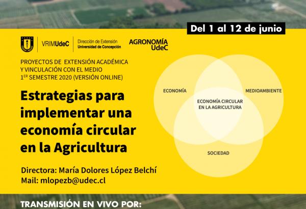 Ciclo de Charlas sobre Economía Circular en la agricultura